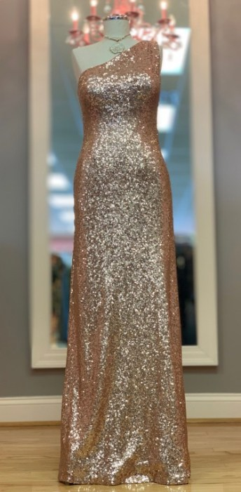 Christine Wu shimmer gown Size 8 $69