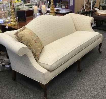 Ethan Allen camelback sofa $250