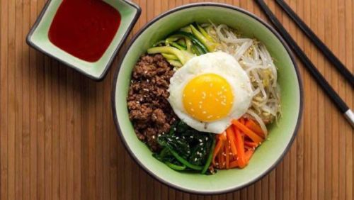 Bibimbap (Korean Mixed Rice) Recipe