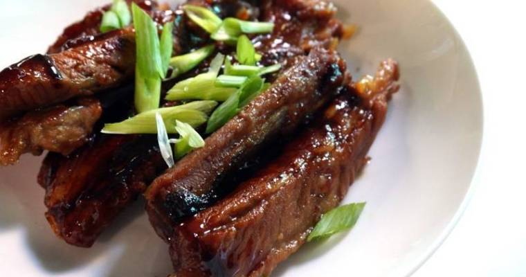 Braised Spare Ribs Recipe