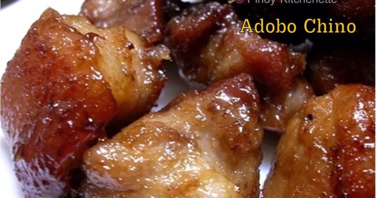 Adobo Chino Recipe