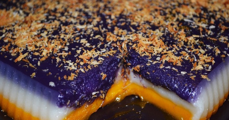 Sapin-Sapin Rice Cake Recipe