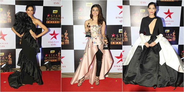 Celebrates at Star Screen Awards