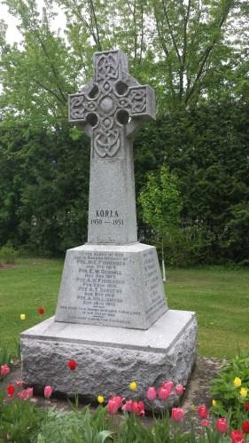 Celtic Cross for Irish settlers