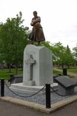 Moncton cenotaph in Victoria Park