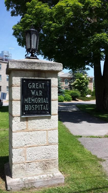 Great War Memorial Hospital, Perth