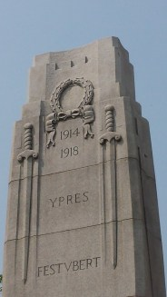 Victory wreath on Brampton Cenotaph
