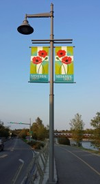 Memorial Drive banners