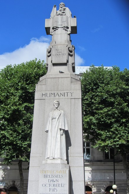 Edith Cavell in St. Martin's Place