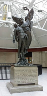 Angel of Victory in Windsor Station, Montreal