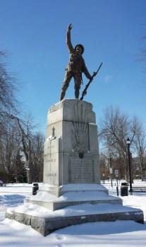 21st Battalion memorial in Kingston City Park