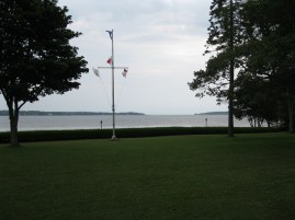 View of Charlottetown Harbour from the parterre