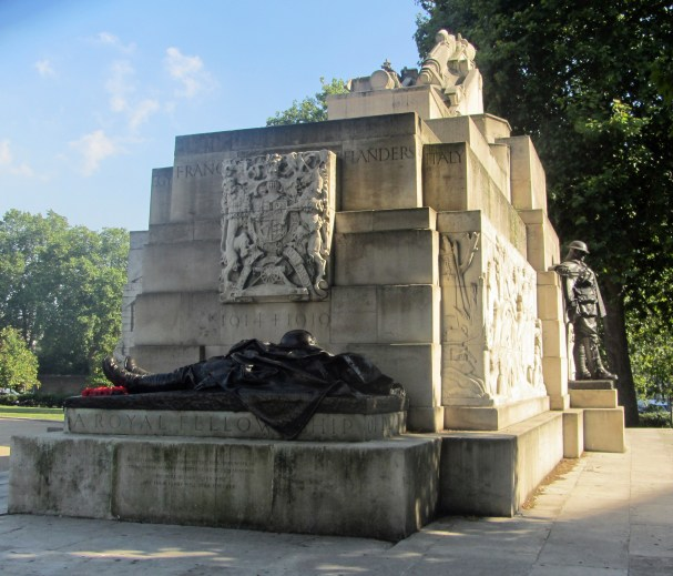 In proud remembrance of the 49,076 of all ranks of the Royal Regiment of Artillery who gave their lives for King and Country in the Great War 1914-1919