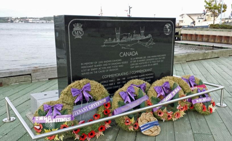 Merchant Navy Memorial, Sackville Landing, Halifax