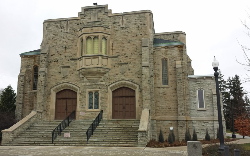 War Memorial Hall on University of Guelph campus