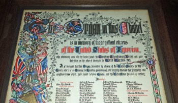 Organ donated in memory of US citizens who served with CEF and were killed in WW1
