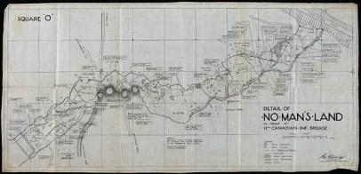 No Man's Land, 11th Infantry Brigade, 1916