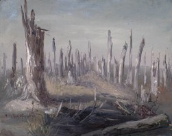 Sanctuary Wood, Flanders. 1920. Mary Ritter Hamilton.