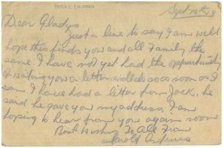 Official postcards, Kriegsgefangenenlager Hameln, June-September 1918. Collections CCGW/CCGG 2015.02.20.01