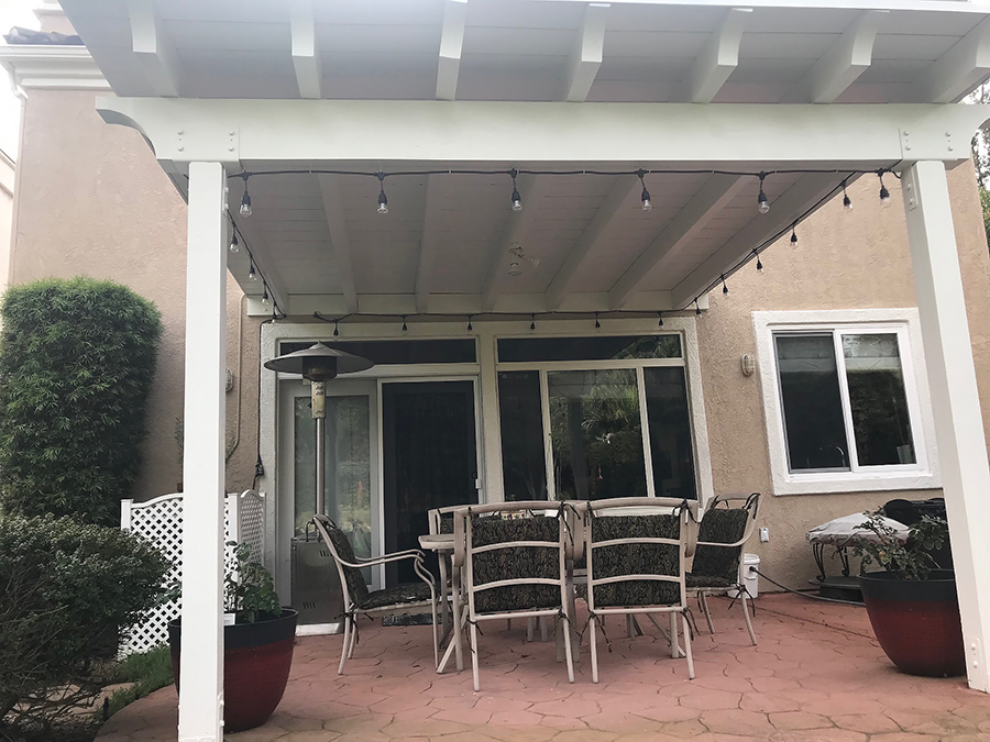 convert your lattice patio cover to a