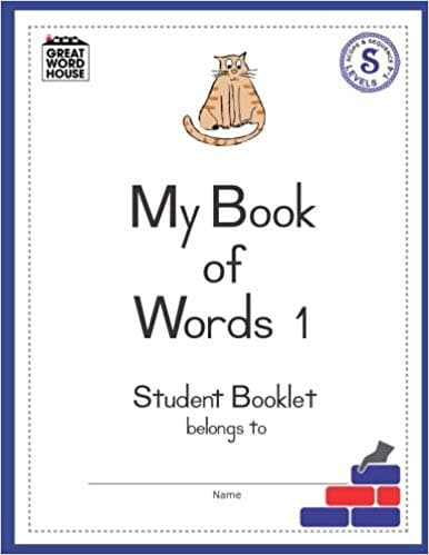 My Book Of Words 1 Student Booklet