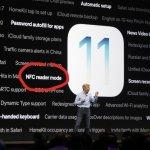 iPhone, NFC e iOS 11