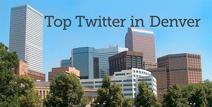 Top Twitter In Denver, Colorado