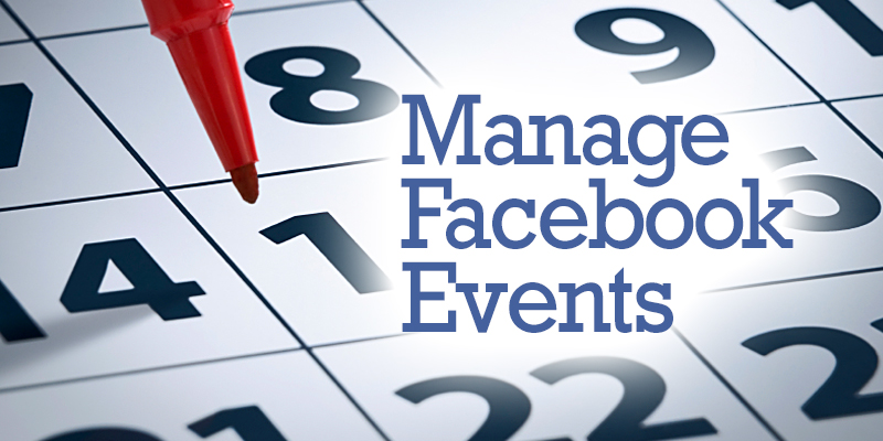 How To Manage Facebook Events