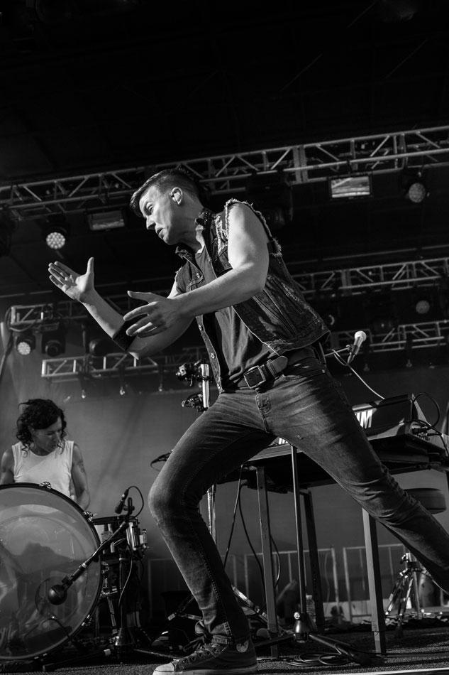 Pop-rock duo Matt and Kim perform at Denver's Westword Music Showcase 2016