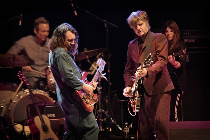 Liam and Neil Finn perform in Boulder, 2016