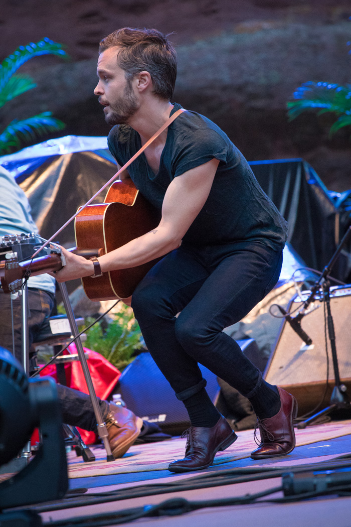 Tallest Man on Earth opens for Head and The Heart at Red Rocks, Denver