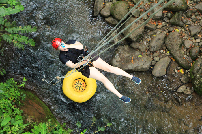 River Drift in Costa Rica - fun adventure travel for the family