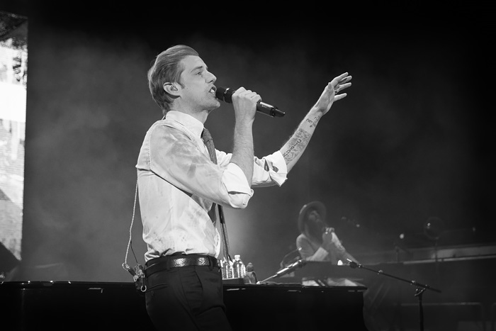 Andrew McMahon at Red Rocks with Bastille for Jeep on the Rocks 2016