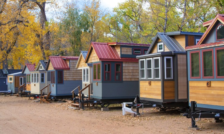 Visit Wee Casa in Lyons, Colorado for a Tiny Homes vacation!