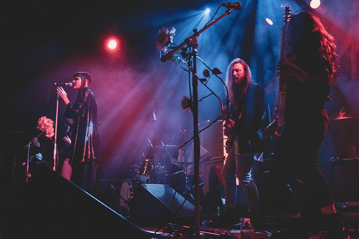 Muna opens for Grouplove at Denver's Ogden Theatre in 2016