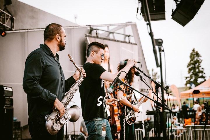Izcalli - Denver rock band - Concert photos from Levitt Denver