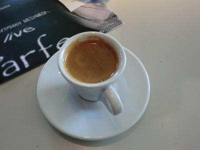 サントリーニ島 グリークコーヒー