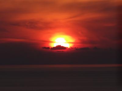 イア 夕陽