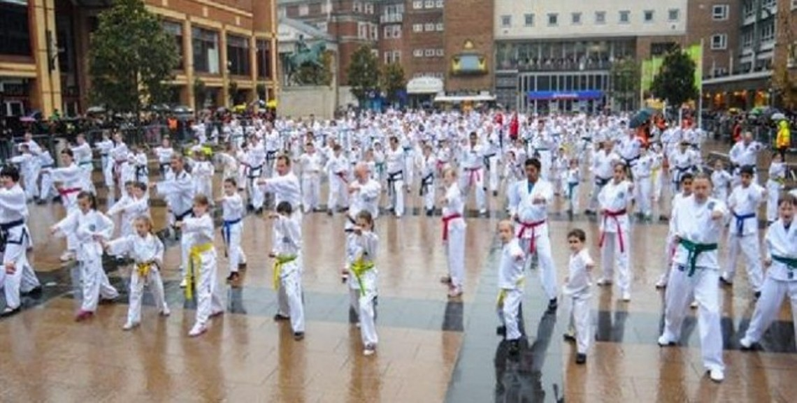 Taekwondo, παγκόσμιο ρεκόρ Γκίνες