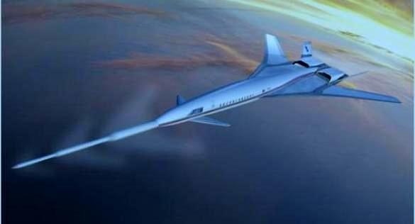 Future civil supersonic airliner