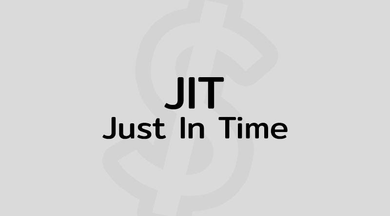Just In Time คือ JIT ระบบ การผลิตแบบทันเวลาพอดี
