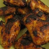 Nigel's Sweet n Sticky Chicken Wings