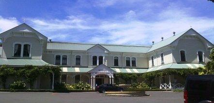 Mission Estate - the original building is fascinating