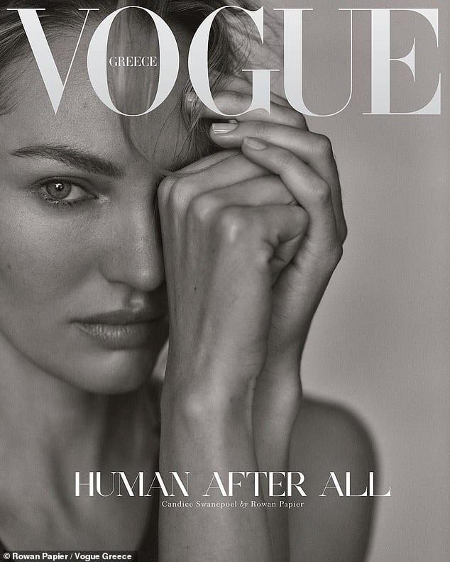 Irina Shayk, Joan Smalls et Candice Swanepoel gracient la couverture 2 de Vogue Grèce