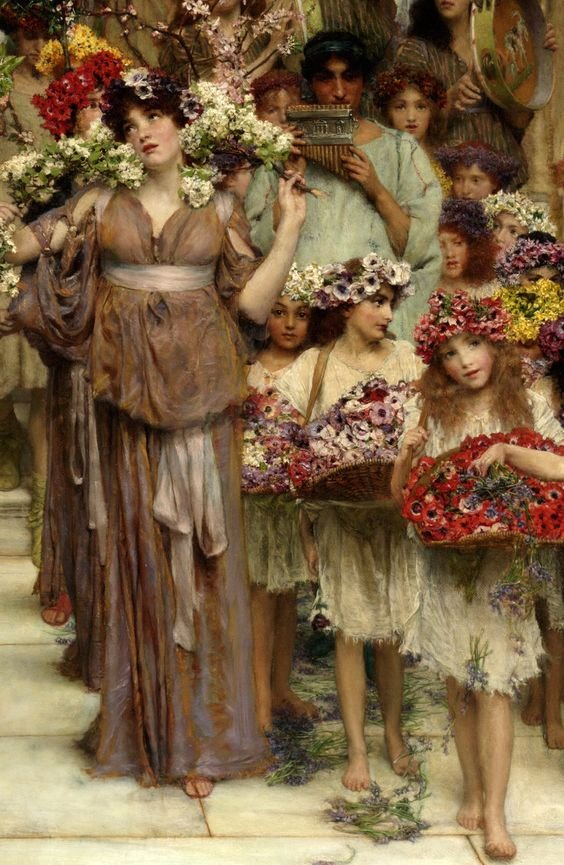 The Greek Goddess Maia, the Month of May and May Day Customs