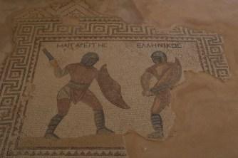 Kourion - house of the gladiators