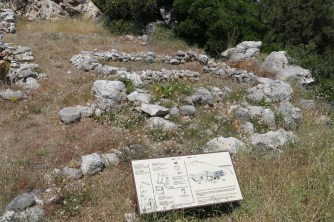House tombs at Gournia