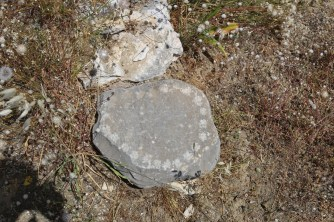 Kernos near House Tombs at Gournia