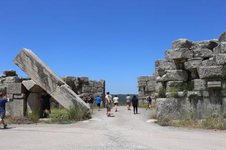 Walking through the Arcadian Gate