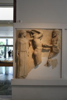 Metope from the Temple of Zeus at Olympia